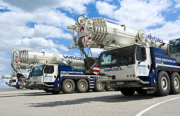 WASEL - Heavy-Duty-Logistics, Tower Cranes, Mobile Cranes